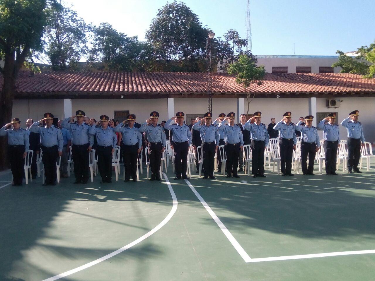 ACTO CEREMONIAL DE INAUGURACIÓN DE MEJORAS EDILICIAS DE LA COMISARÍA 7ª METROPOLITANA