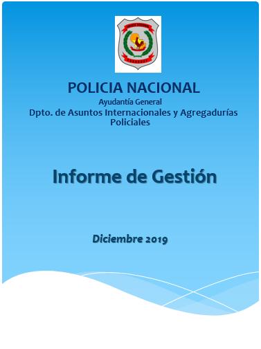 Informe de Gestion Departamento de Asuntos Internacionales y Becas