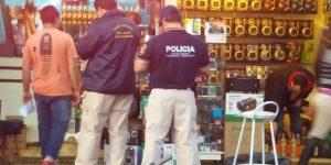 ALLANAMIENTO DE LOCAL COMERCIAL E INCAUTACIÓN DE PRODUCTOS FALSIFICADOS