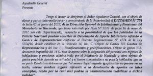 Dictamen N° 774 de la Dirección General de Jubilaciones y Pensiones del Ministerio de Hacienda