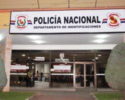 EL DEPARTAMENTO DE IDENTIFICACIONES DE LA POLICIA NACIONAL
