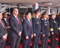 CEREMONIA POR EL DÍA DEL AGENTE DE POLICIA Y SU PATRONA SANTA ROSA