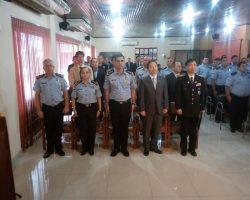 Clausura del Curso de investigación a través de los circuitos cerrados (cámaras de seguridad) y entrega de gratitud y reconocimientos a los instructores de la República de Corea