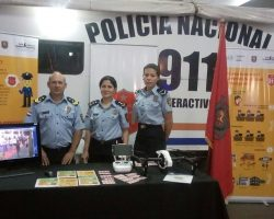 POLICIA NACIONAL PRESENTE EN LA EXPO FISCALIA