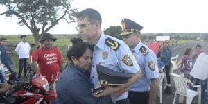 Visita del Sr. Comandante de la Policía Nacional Crio. Gral. Cmdte Luis Carlos Rojas