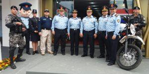 LA POLICÍA NACIONAL PRESENTE EN LA EXPO 2018