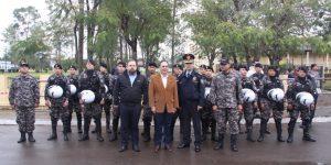 CEREMONIA DE PRESENTACION DEL GRUPO LINCE- PARAGUAY, EN LA CIUDAD DE PARAGUARI