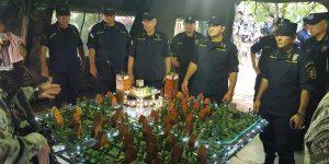 Acompañamiento del Señor Comandante de la Policia Nacional
