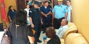 ASISTENCIA SOLIDARIA DEL COMANDO INSTITUCIONAL A PERSONAL POLICIAL HERIDO EN ACTO DE SERVICIO