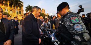 La Policía Nacional recibió 200 Motocicletas donadas por la Entidad Binacional Yacyretá