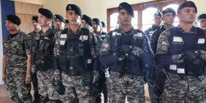Acto de presentación del Personal de la Unidad de Operaciones Tácticas Motorizada LINCE