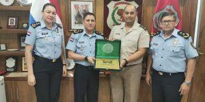 Visita del Comandante Principal de la Gendarmería Argentina