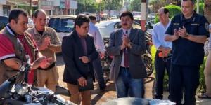 Comuna de Hernandarias apoya a la Policia Nacional