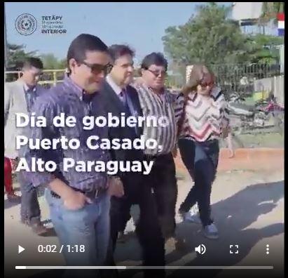 Dia de Gobierno en Puerto Casado – Alto Paraguay