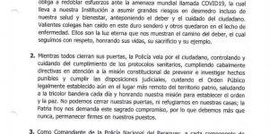FELIZ DIA A NUESTRA SANTA PATRONA SANTA ROSA DE LIMA Y DIA DEL AGENTE DE POLICÍA