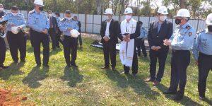 Inicio de Futura Sede del Colegio de Policia «Sargento Ayudante José Merlo Saravia» Filial Villarrica
